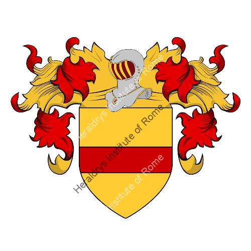 Coat of Arms of family Serravalli