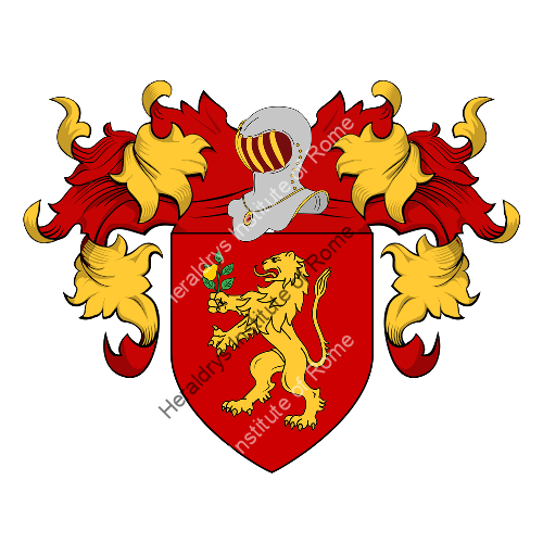 Coat of Arms of family Peraccioli