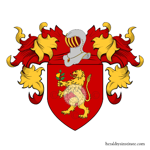 Coat of Arms of family Peragina