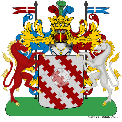 Coat of Arms of family Zagonari