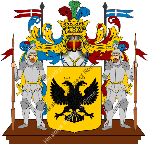 Coat of Arms of family Rutili