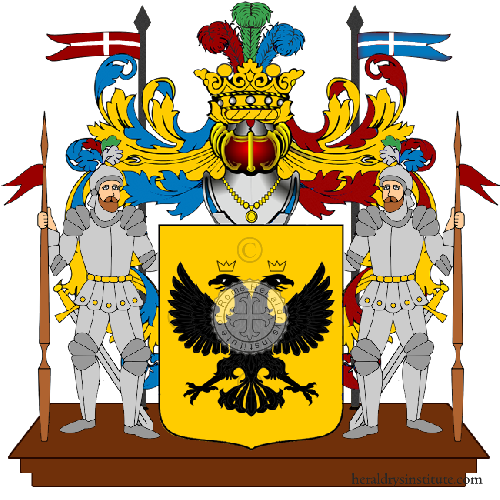 Coat of Arms of family Sandilia