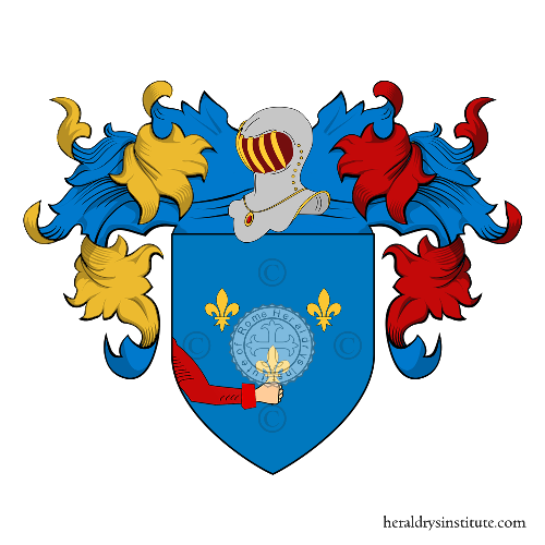 Coat of arms of family Zonetti