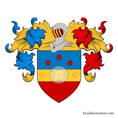 Coat of Arms of family Vornetti