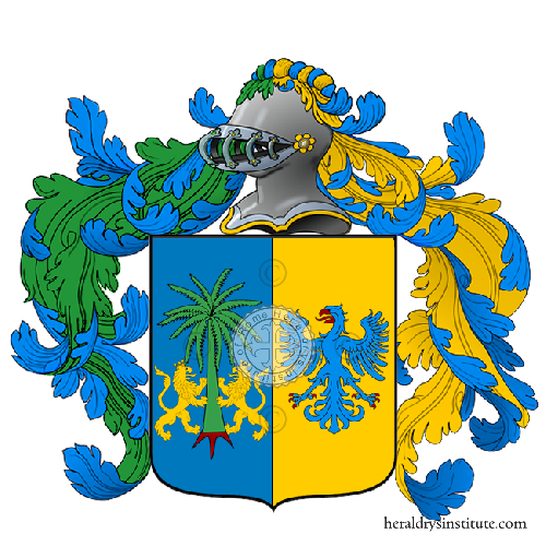 Coat of Arms of family Parsini
