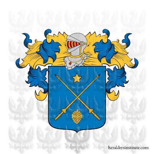 Coat of Arms of family Sassi di Lavezzari