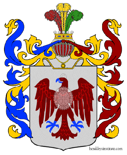 Coat of arms of family Scassi