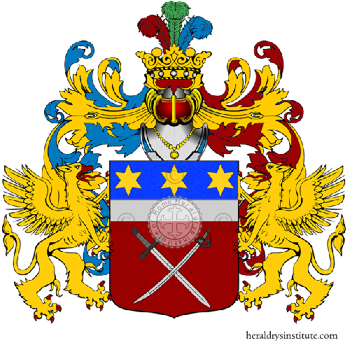 Coat of Arms of family Scacciante