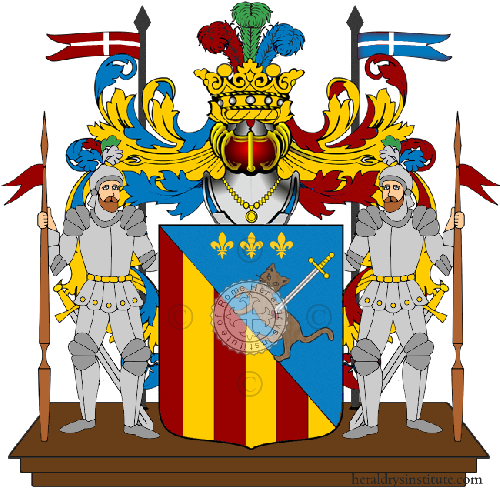 Coat of Arms of family Valleta