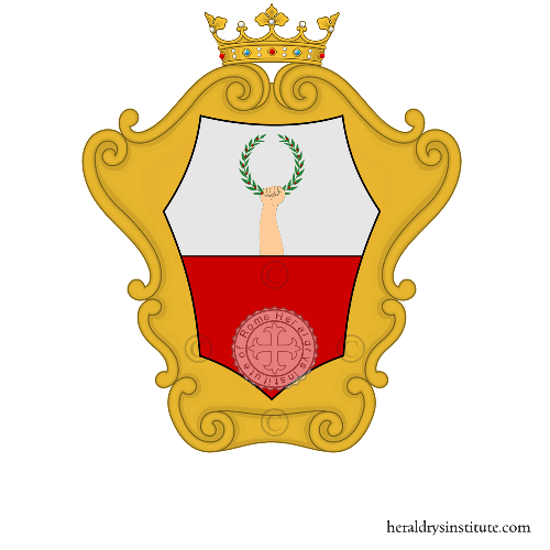 Coat of Arms of family Visetti