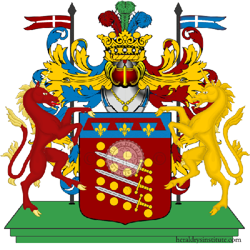 Coat of Arms of family Scarsellini