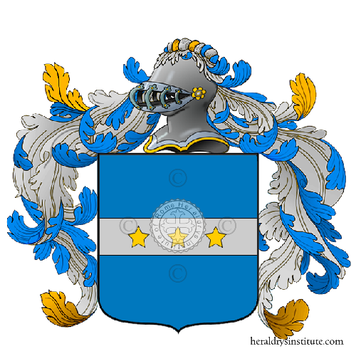 Coat of Arms of family Pizzinardi