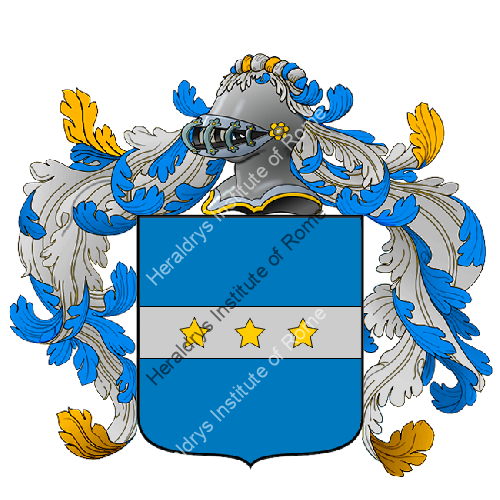 Coat of Arms of family Zenare