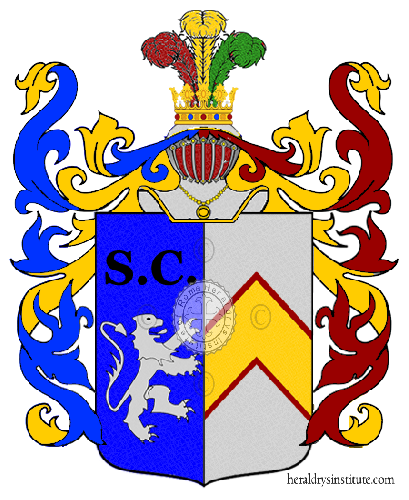 Coat of Arms of family Dergio