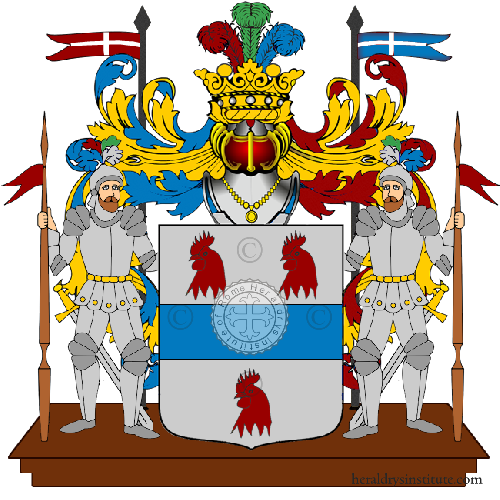 Coat of Arms of family Stellino