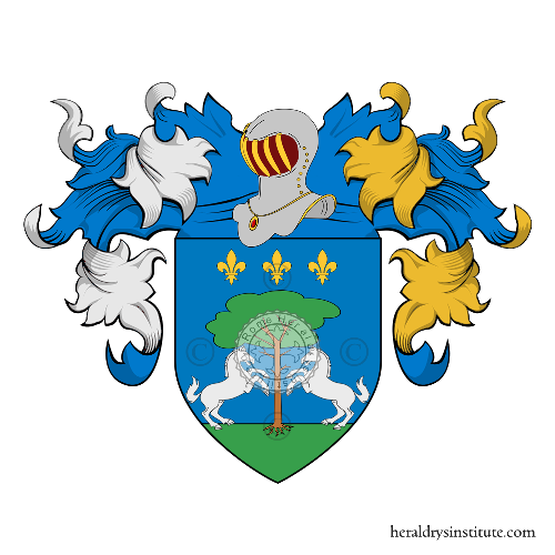 Coat of arms of family Di Cola