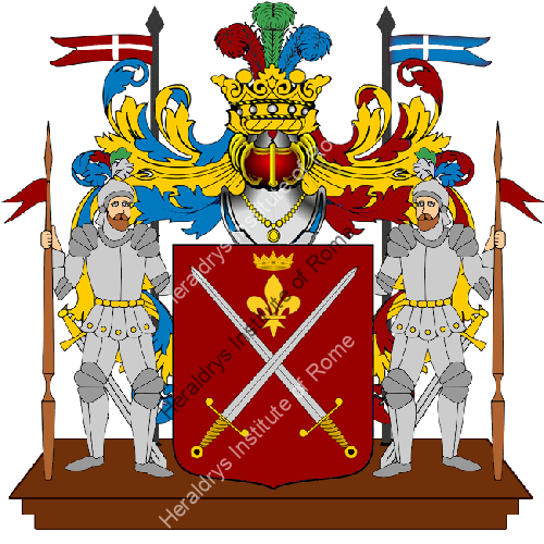 Coat of Arms of family La Tassa