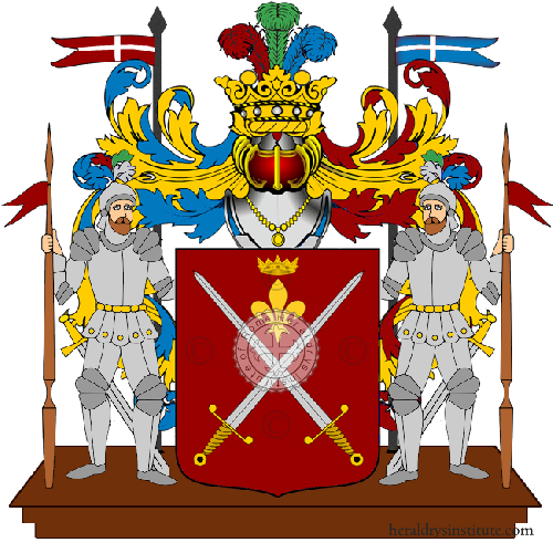 Coat of Arms of family Spadotto
