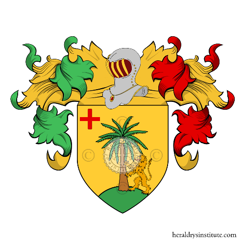 Coat of Arms of family Spanò (Sicilia)
