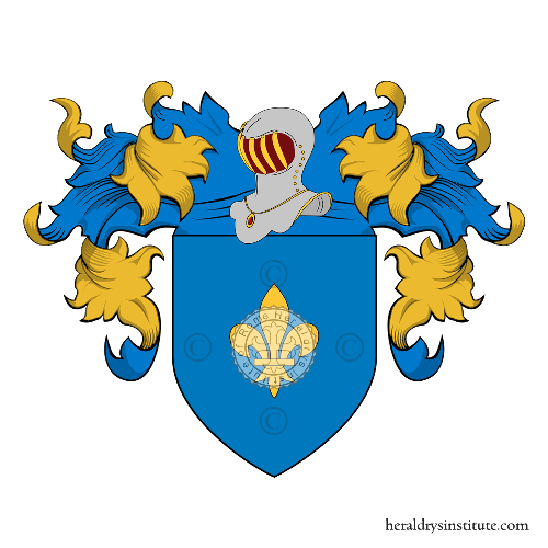 Coat of Arms of family Fiorio