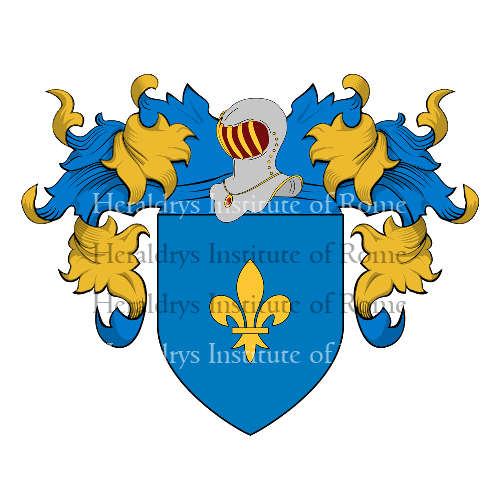 Coat of Arms of family Siorio