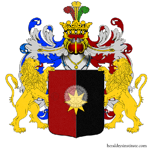 Coat of Arms of family Stefanni