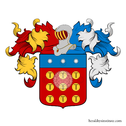Coat of Arms of family Nacca