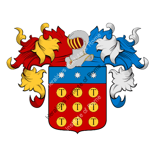 Coat of Arms of family Tallandini