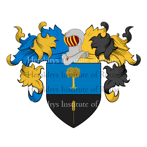 Coat of Arms of family Ragne