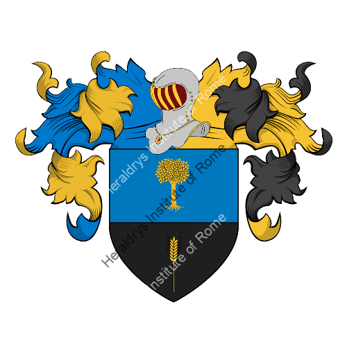 Coat of Arms of family Ragnicola
