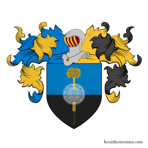 Coat of Arms of family Tragni