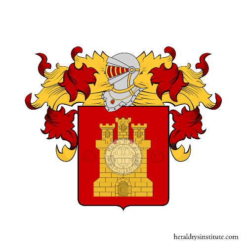 Coat of Arms of family Tericco