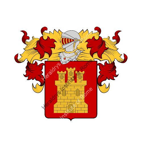 Coat of Arms of family Terito