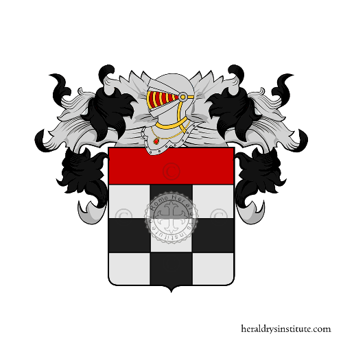 Coat of Arms of family Tarteri