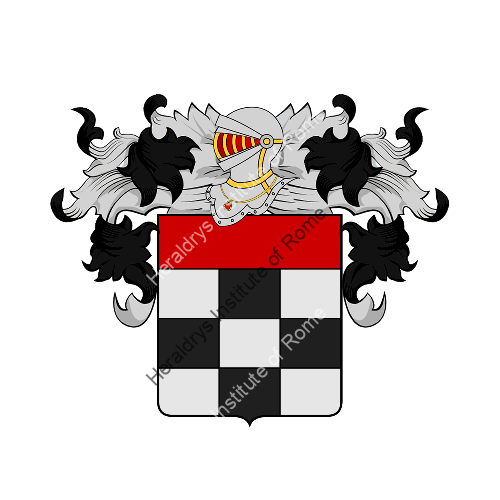 Coat of Arms of family Tregori