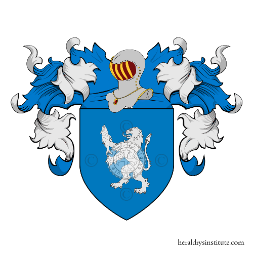 Coat of Arms of family Orestini