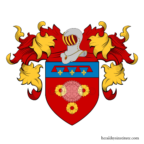 Coat of Arms of family Mellonio
