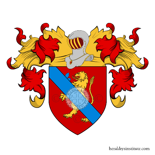 Coat of Arms of family Torriglia (Genova)