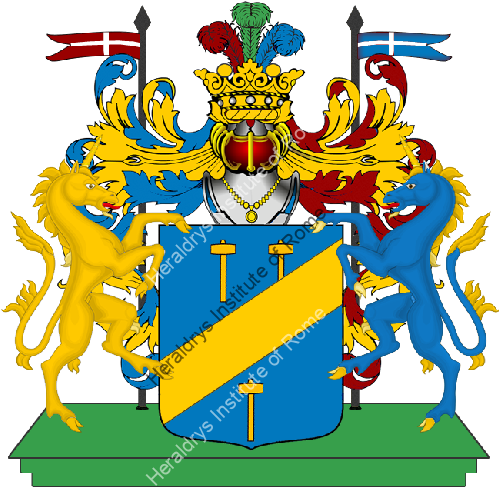 Coat of Arms of family Trimarca