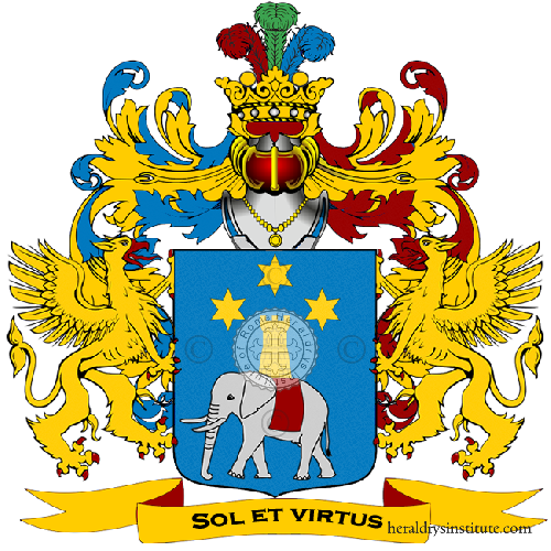 Coat of Arms of family Salentini