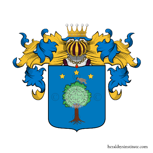 Coat of Arms of family Pedrazzini
