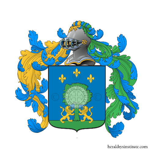 Coat of Arms of family Pinacci