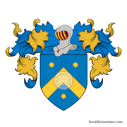 Coat of Arms of family Montefeltri