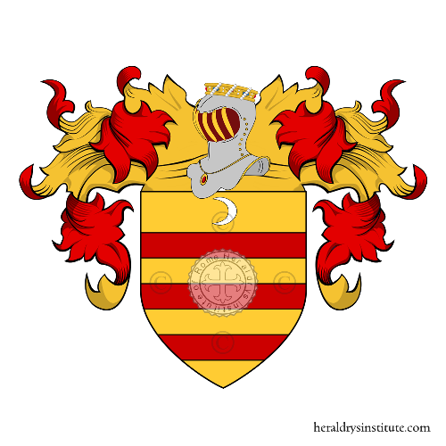 Coat of Arms of family Vernazzani