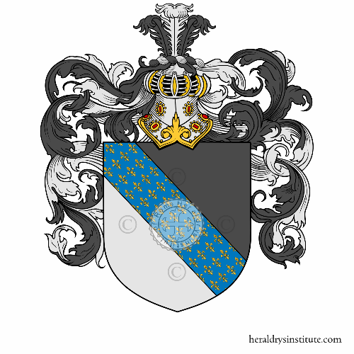 Coat of Arms of family Scornazzani