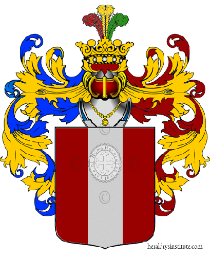 Coat of Arms of family Zanali