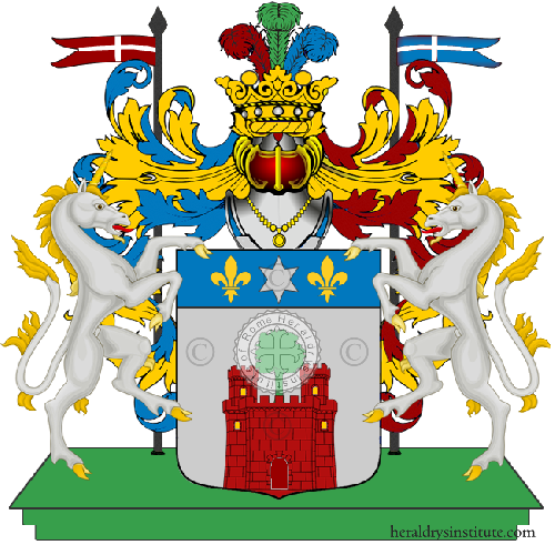 Coat of Arms of family Vicariali