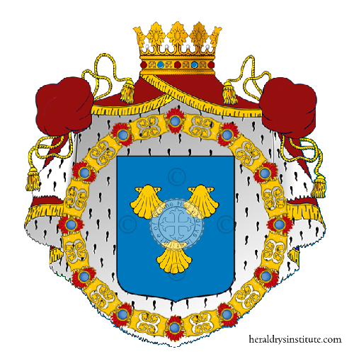 Coat of Arms of family Pisacco