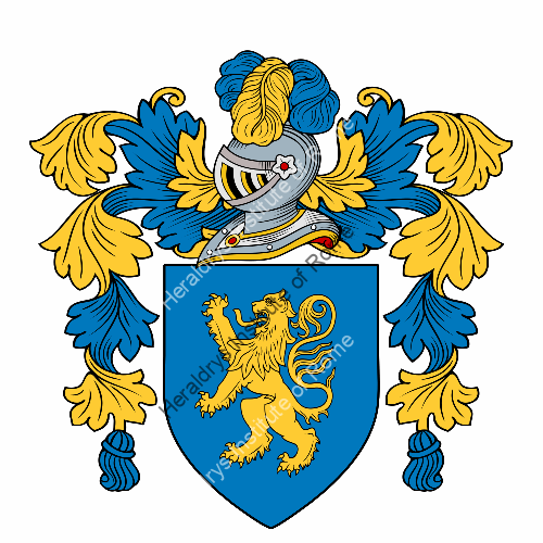 Coat of Arms of family Saccaro