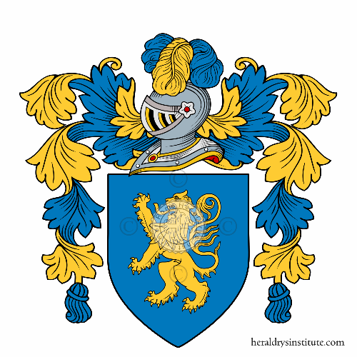 Coat of arms of family Dibaldacchini